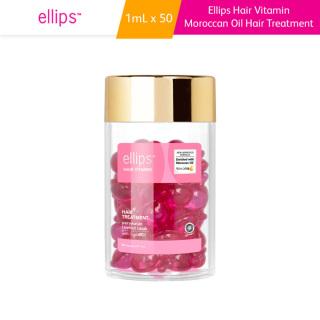 Vitamin Dưỡng Tóc Phục Hồi Hư Tổn Ellips Hair Treatment (Hộp 50 Viên) 50g thumbnail