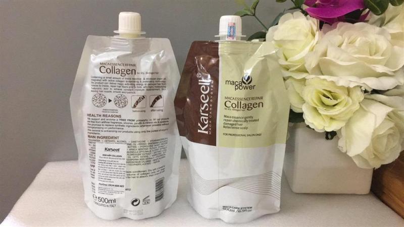 Ủ tóc Maca Essence Repair Collage cho tóc óng ả đen khỏe cao cấp