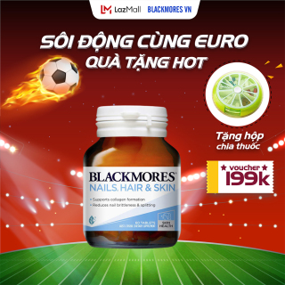 Blackmores Nail, Hair and Skin 60v - Viên uống chăm sóc tóc, da, móng Blackmore Úc thumbnail