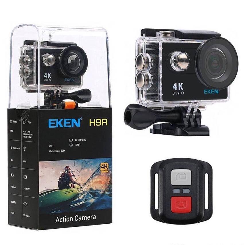 Camera thể thao EKEN H9R Ver 7.0 Camera 20MP- Chính hãng, camera 4K Ultra HD WiFi, có remote Nhật Bản