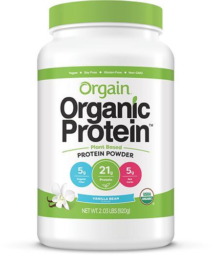 Bột protein thực vật hữu cơ Orgain 920g cao cấp