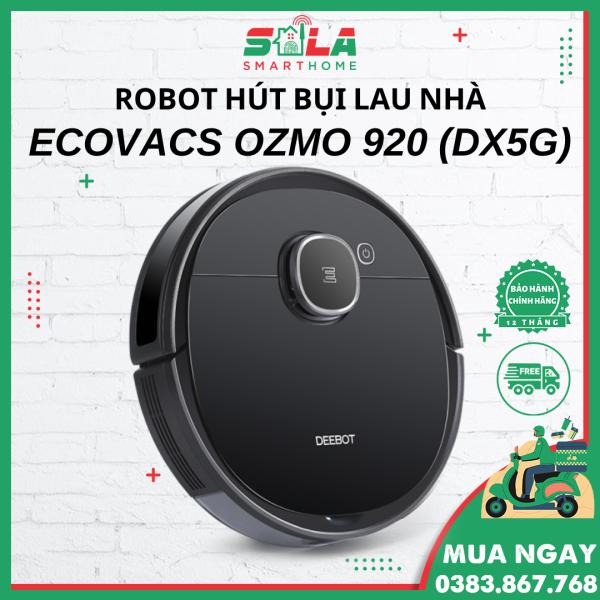 T5 HERO v2 - Ecovacs Deebot Ozmo 920 (DX5G) - Robot Hút Bụi - Robot Lau Nhà - Hàng Chính Hãng BH 12 tháng