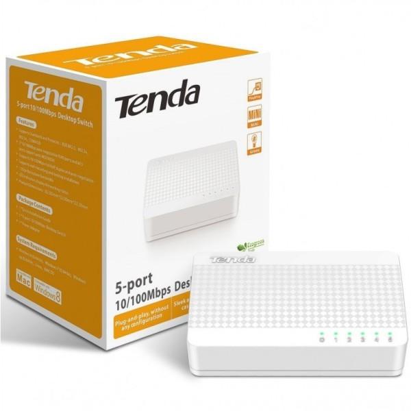 Bảng giá Bộ chia mạng Switch 5 port 10/100 Tenda S105 (5 cổng) Phong Vũ