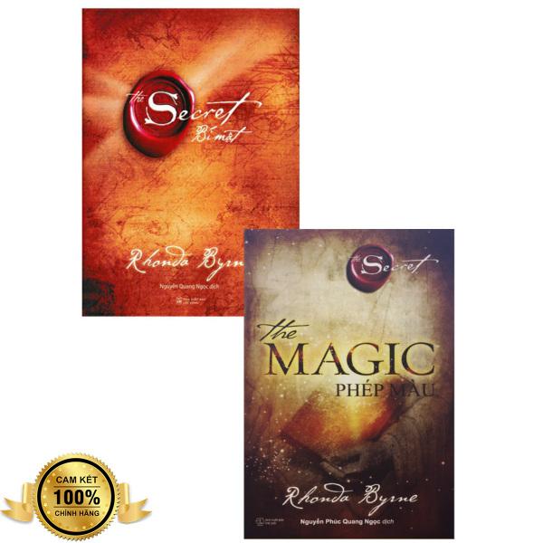 Combo 2 Cuốn Sách: The Magic - Phép Màu + The Secret - Bí Mật - Rhonda Byrne