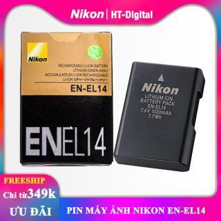 Pin máy ảnh Nikon EN-EL14 cho Nikon D3100 D3200 D5100 D5200 P7000 P7100 D5300 thumbnail