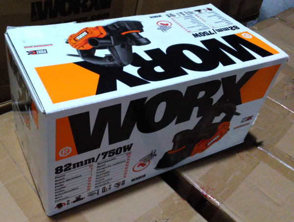 Máy bào 750W WX615 - Worx Orange