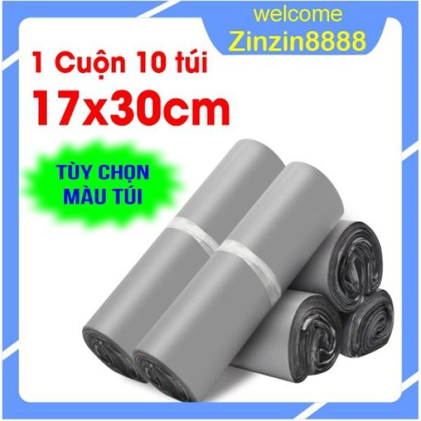 [17x30cm] 10 Túi Gói Hàng, Đóng Hàng, Niêm Phong, Bao Bì Gói Hàng Tự Dính