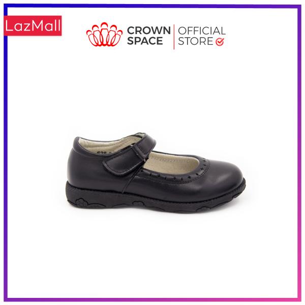 Giá bán Giày Búp Bê Đi Học Bé Gái Crown Space UK School Shoes CRUK3040 Cao Cấp Nhẹ Êm Thoáng Mát Size 30-36/4-14 Tuổi