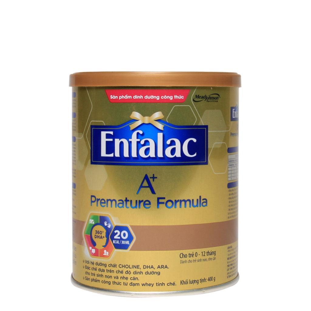 SỮA BỘT ENFALAC A+ PREMATURE FORMULA 400G