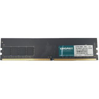RAM DESKTOP PC KINGMAX DDR4 2666MHZ 8GB (ĐEN) - Hàng chính hãng new 100% thumbnail