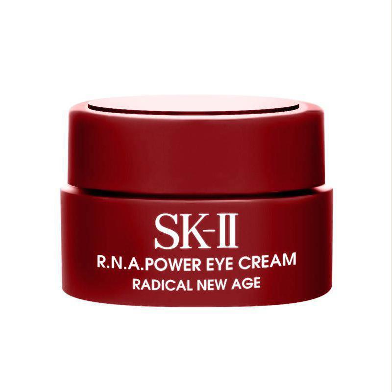 Kem Dưỡng Ẩm Da Vùng Mắt SK-II R.N.A Power Eye Cream Radical New Age (2.5g) Loại Bỏ Quầng Thâm, Bọng Mắt & Ngăn Ngừa Lão Hoá Cho Da Mắt Săn Chắc Căng Bóng Mềm Mịn