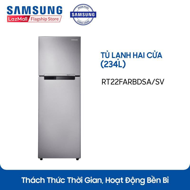 Tủ lạnh hai cửa Samsung Digital Inverter RT22FARBDSA/SV 234L (Đen) - Hãng phân phối chính thức, tiết kiệm điện