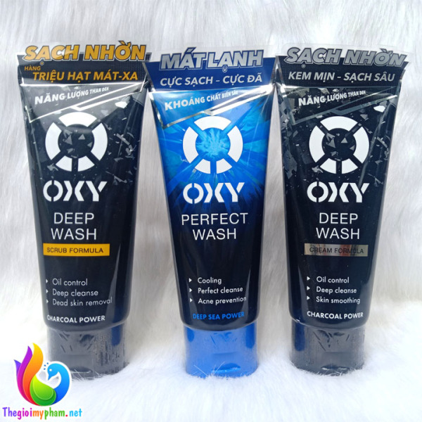 Sữa Rửa Mặt Nam Oxy 100g