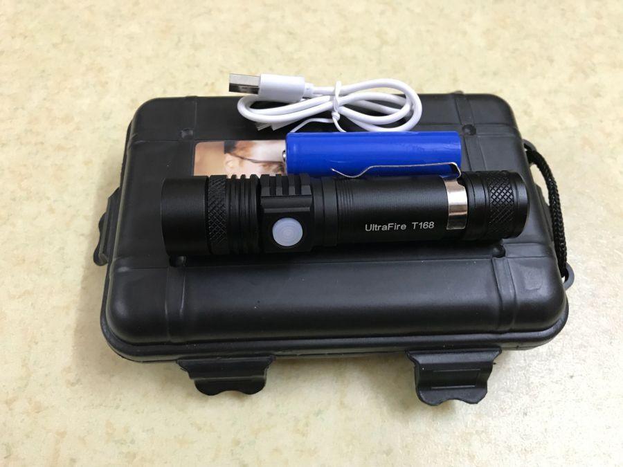 Voucher Ưu Đãi đèn Pin Cầm Tay Ultrafile T168 Siêu Sáng