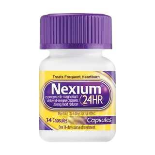 Thực phẩm chức năng viên uống Nexium 24hr 14 viên của Mỹ - Hỗ trợ điều trị viêm loét dạ dày ợ nóng thumbnail