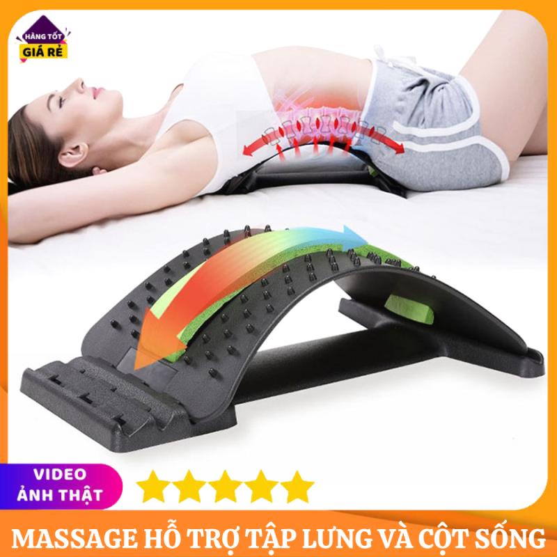 Khung Nắn Chỉnh Cột Sống Và Massage Hỗ Trợ Tập Lưng, Giảm Thoái Hóa Đốt Sống Lưng, Đốt Sống Cổ Và Thoát Vị Đĩa Đệm, Dụng Cụ Chăm Sóc Khỏe Thiết Kế Mới