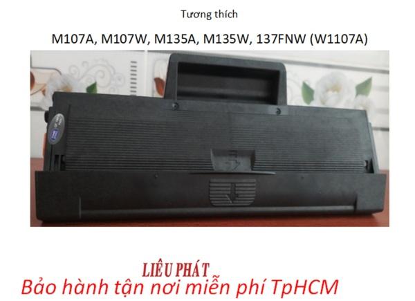 Bảng giá Hộp mực in HP 107A KHÔNG CHÍP dùng cho máy HP M107A, M107W, M135A, M135W, M137FNW,... (W1107A) Phong Vũ