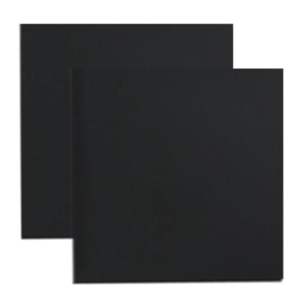 Bảng giá 2 Pcs 3D Printer Hot Bed Film Heating Platform Heat Resistant Sticker Size 300x300mm Black Phong Vũ
