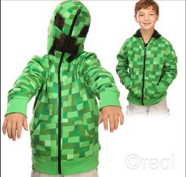 Áo khoác Creeper Minecraft
