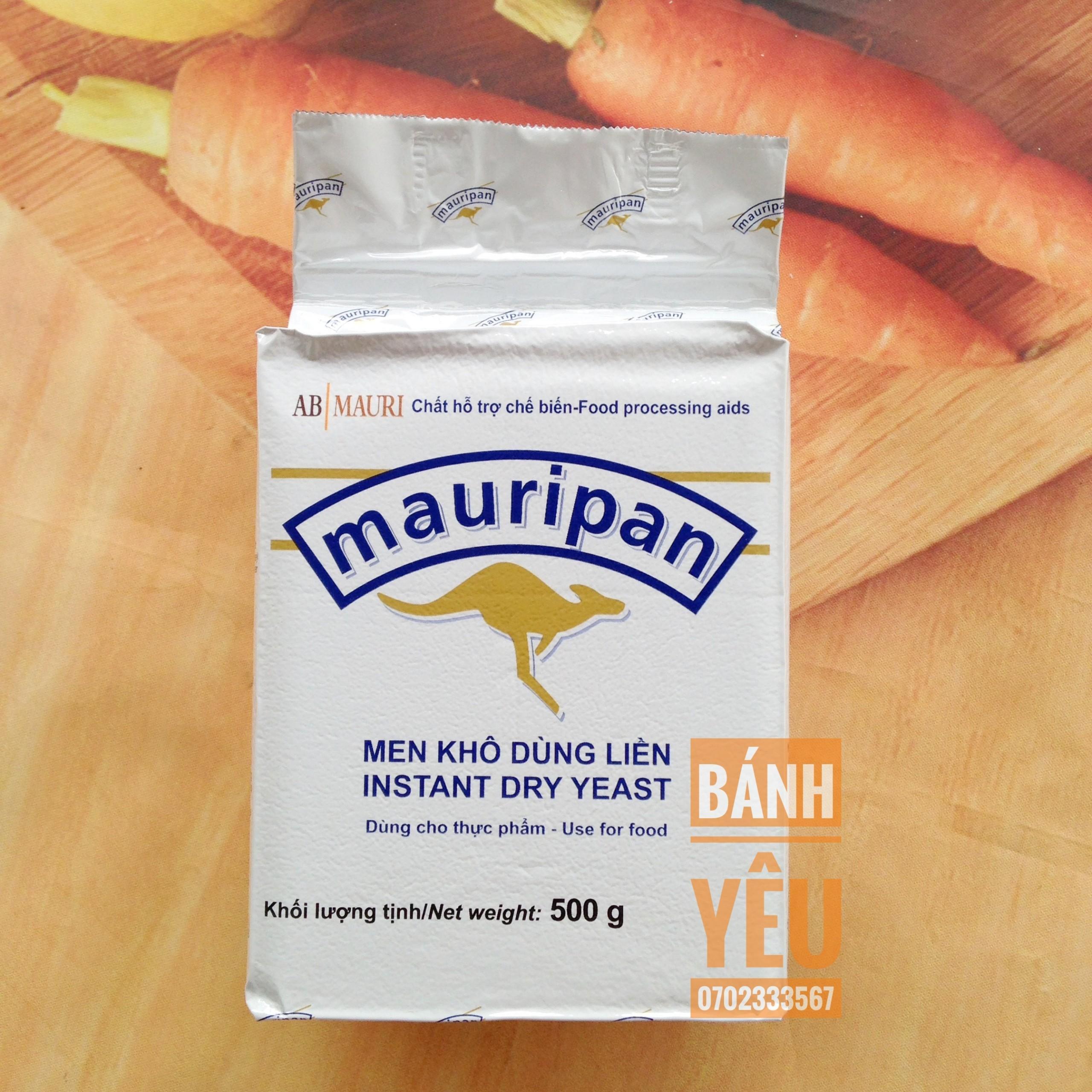 Men ngọt Mauripan 500g - men nở làm bánh mì ngọt