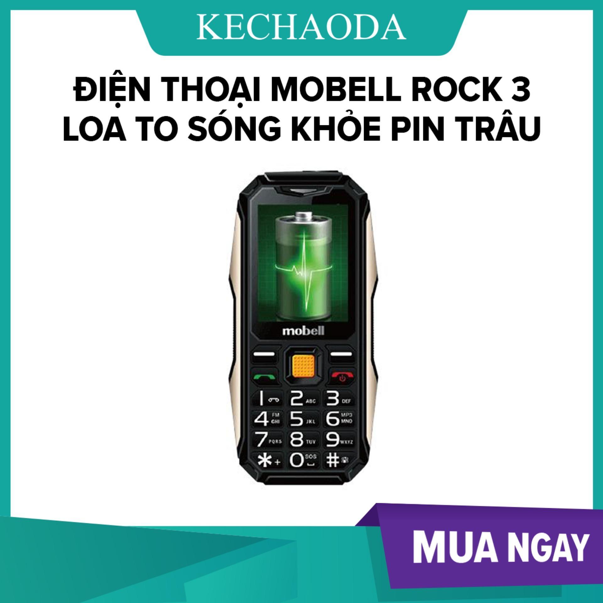 Điện thoại Mobell Rock 3 loa to sóng khỏe pin trâu