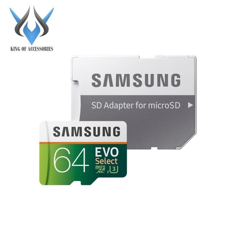 Thẻ nhớ MicroSDXC Samsung Evo Select 64GB / 128GB U3 4K 100MB/s kèm Adapter (Xanh) - Phụ Kiện 1986