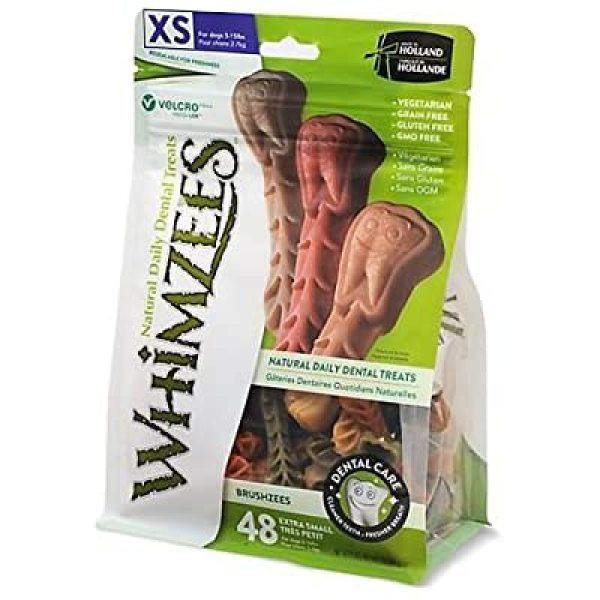 Bánh Nhai sạch răng Whimzees hình bàn chải cho chó