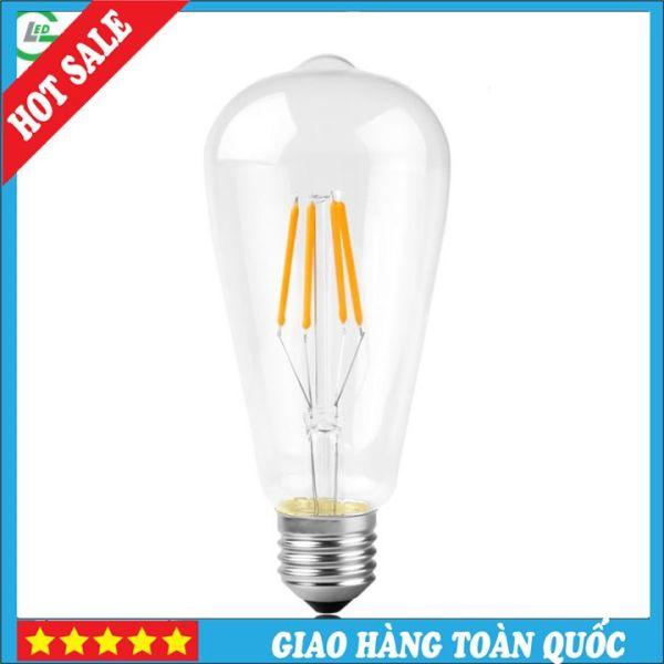 Bóng Đèn LED Edison ST64 4W Dimer Tiết Kiệm Điện - Ánh Sáng Vàng 3000K
