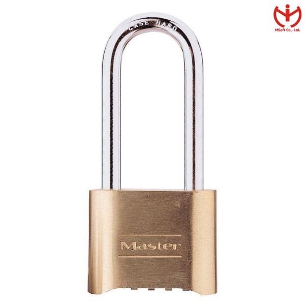 Khóa Số Master Lock 175 DLH Thân Đồng 50 mm Càng Dài 57MM Dùng Chìa Đổi Mật Mã - MSOFT