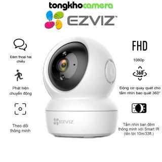 Camera IP Wifi EZVIZ C6N Xoay 360 Full HD 1080P, Hồng Ngoại, Đàm Thoại 2 Chiều, Cảnh Báo - Hàng chính hãng Ezviz bảo hành 24 tháng thumbnail
