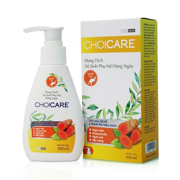 Dung Dịch vệ sinh Phụ nữ hàng ngày Choicare 100ml nhập khẩu
