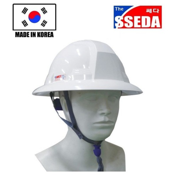 Nón bảo hộ rộng vành Hàn Quốc SSEDA- 3 màu trắng, vàng, đỏ