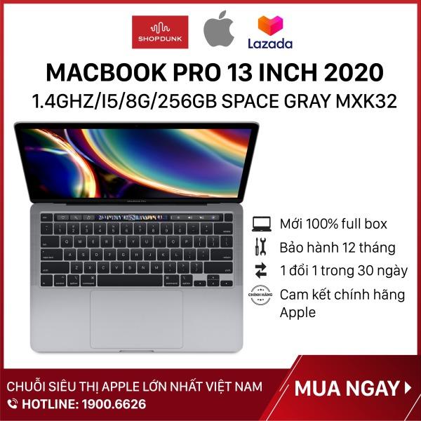 Bảng giá Laptop Macbook Pro 13 inch 2020 1.4GHz/i5/8G/256GB SSD Space Gray MXK32, Hàng chính hãng Apple, mới 100%, nguyên seal, Bảo Hành 12 Tháng Phong Vũ