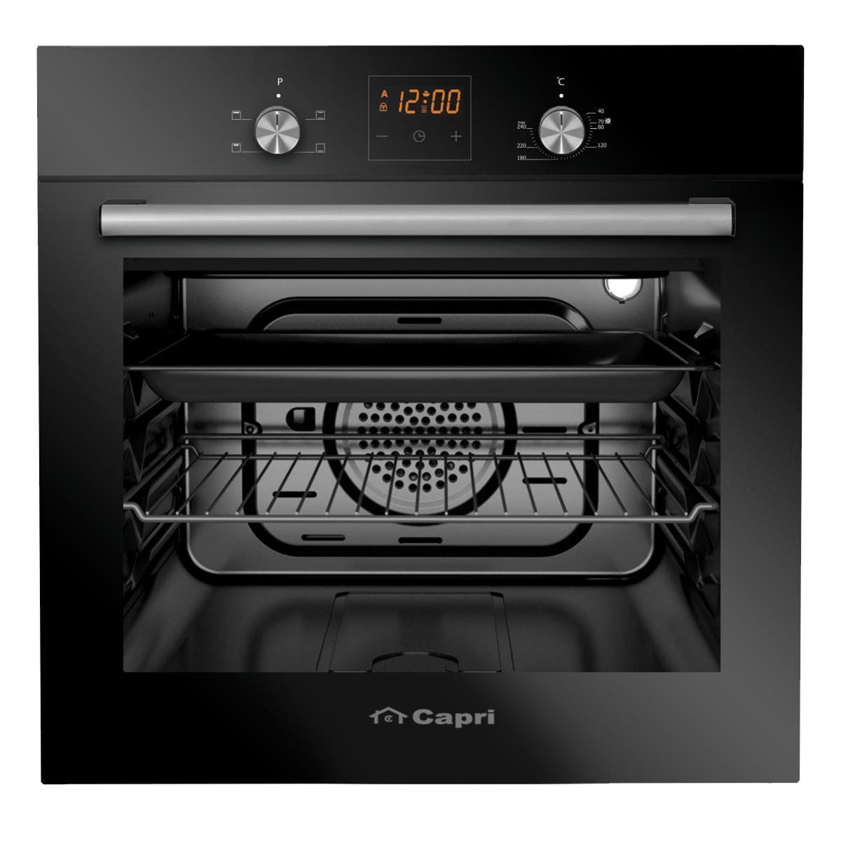 Lò nướng tích hợp âm tủ siêu thông minh   Capri CR-666B   Hàng chính hãng, bảo hành tận nơi lên đến 2 năm   Mang trái tim ấm áp đến ngôi nhà của bạn