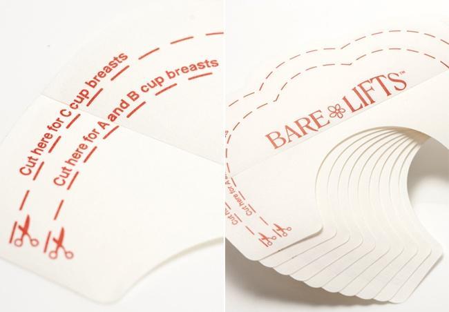 Home and garden - Bộ 20 miếng dán nâng ngực chống chảy sệ Bare Lifts (Trong suốt) nhập khẩu