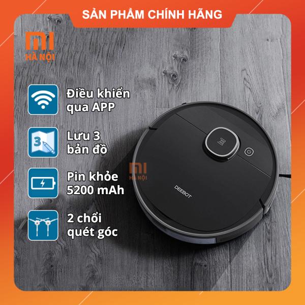 [Trả góp 0%]Robot hút bụi lau nhà Ecovacs Deebot T5 Hero (OZMO 950) - Fullbox BH 12 tháng hdsd Tiếng Việt