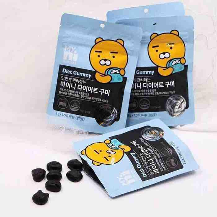 Kẹo Giảm Cân Hàn Quốc MyNi Selfcare Diet Gummy Kakao Friends