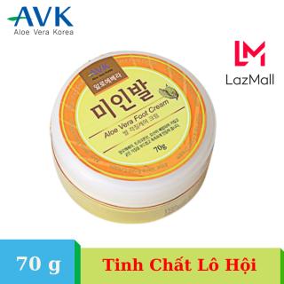 Kem dưỡng da chân AVK Aloe Vera Foot Cream (70g) Dưỡng ẩm, tẩy tế bào chết, khử mùi hôi chân Nhập khẩu Hàn Quốc thumbnail