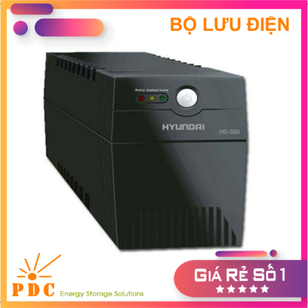 Bảng giá Bộ Lưu Điện UPS Offline HYUNDAI (500VA/300W) - HD500 (Like New) Phong Vũ
