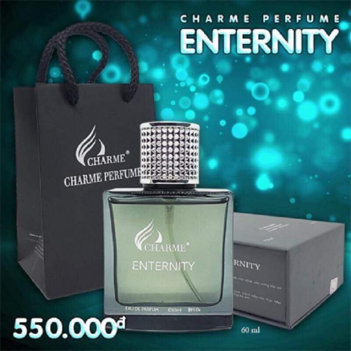 Nước hoa nam Enternity – NAM TÍNH, MẠNH MẼ ĐẦY CÁ TÍNH (60ML)