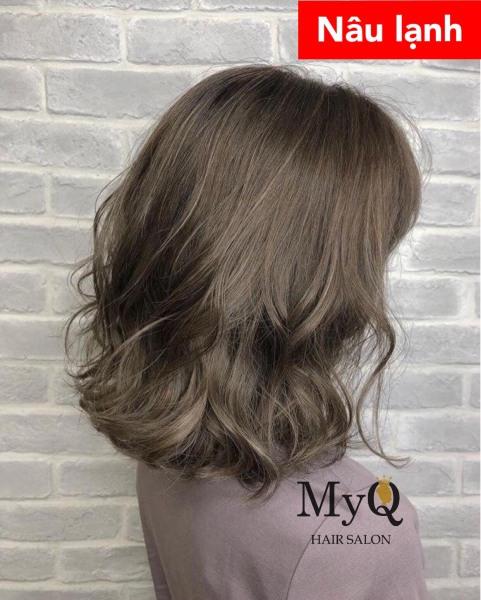 Tự nhuộm tóc màu Nâu lạnh tại nhà, hàng nội địa Việt Nam, không gây hư tổn cho tóc (Trọn bộ tặng gang tay, trợ nhuộm) cao cấp