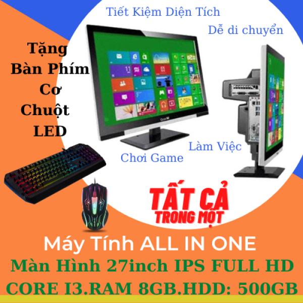 Bảng giá Máy Tính AIO 27Inch CORE I3 RAM 8GB HDD 500GB - Tặng Bàn Phím Cơ Chuột LED - Viewpaker ALL IN ONE 27 Phong Vũ