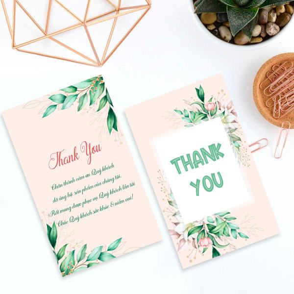 100 thiệp cảm ơn, thẻ cám ơn cho shop bán hàng online