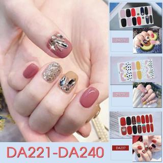 Miếng dán trang trí móng tay nghệ thuật mã DA221 - DA240 thumbnail