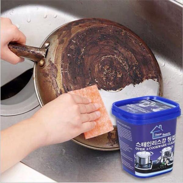 [ KHUYẾN MÃI] Kem tẩy xoong nồi đa năng hàn quốc- tẩy rửa mọi vết bẩn cứng đầu