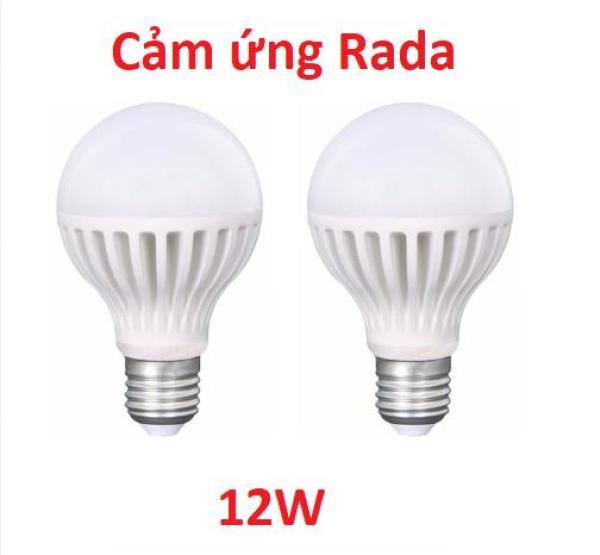 [HCM]Bộ 2 Bóng đèn cảm ứng rada 12w chuyển động