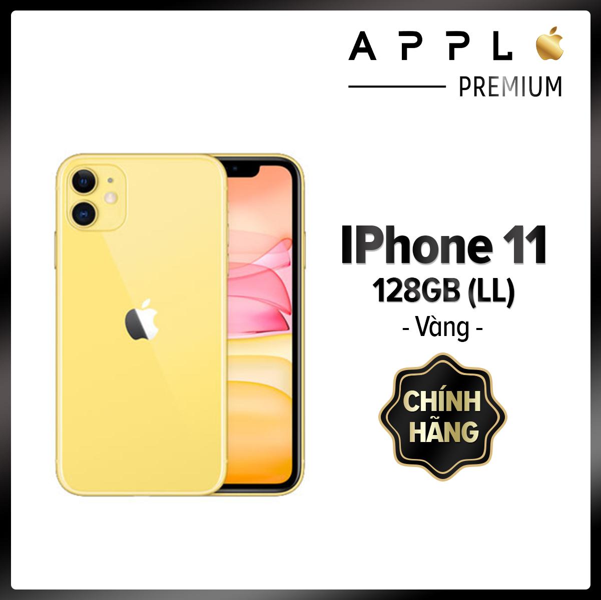 [Hàng Chính Hãng] iPhone 11 128G Xanh - BH 12 tháng - Mới new 100% - Giao nhanh 24h - ip 11 128g Brand New, Nguyên Seal, Mã Mỹ LL 1 SIM , Bản Quốc Tế [QT] 11 128GB điện thoại 11 BH 12T Xanh [Cửa hàng tại TP HCM]