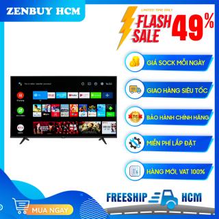 [HCM]Android Tivi TCL 4K 50 inch 50P615 - Hệ điều hành Android 9.0 - Tổng công suất loa 19W thumbnail