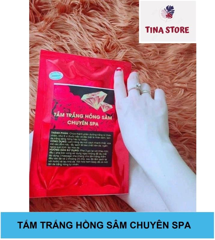 Tắm Dưỡng Hồng Sâm Chuyên Spa - Mẫu mới nhập khẩu