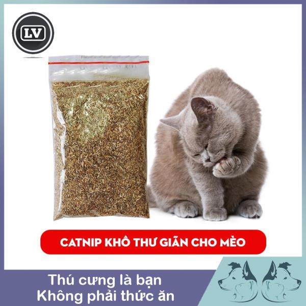 Túi Cỏ bạc hà catnip cho mèo thư giãn - Catnip khô cho mèo - Bạc hà cho mèo